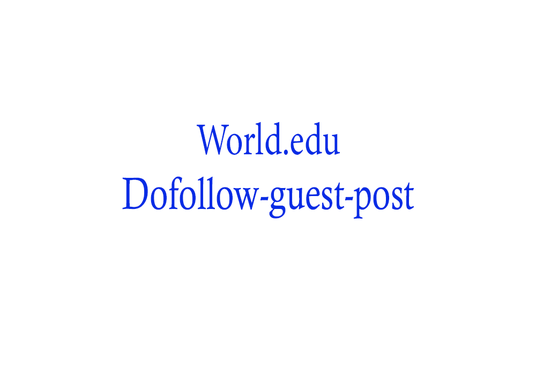 I will Publish A Guest Post On Global Education Network