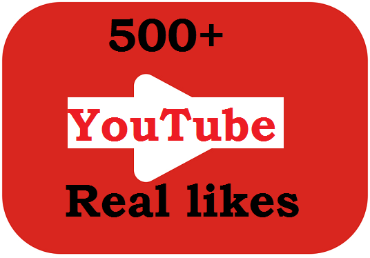 I will add Real 500 Youtube Like or 100 subscribers for your any Youtube videos or channel