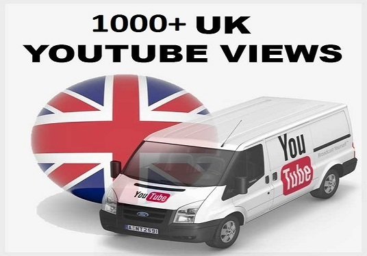 I will added  Instant 1000 UK YouTube Views