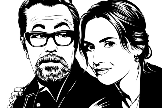Do Line Art Illustration Of Your Photos