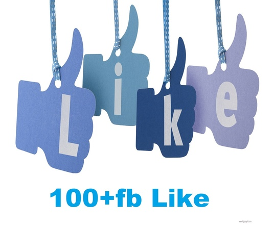 I will provide 100+ Real Facebook page likes
