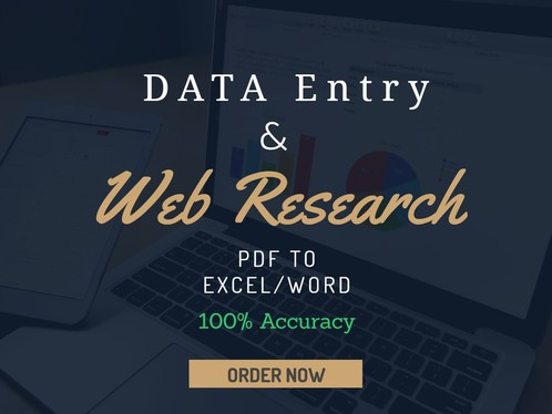 Do Wordpress Or Excel Data Entry And Web Research As A Virtual Assistant