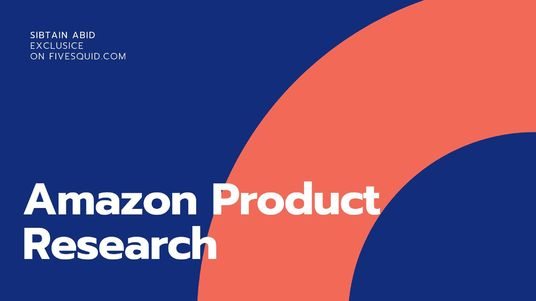 Do Amazon Product Research For Your New Listing