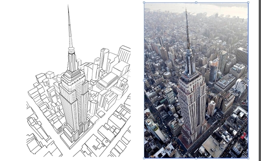 Convert Any Picture To Line Art Vector