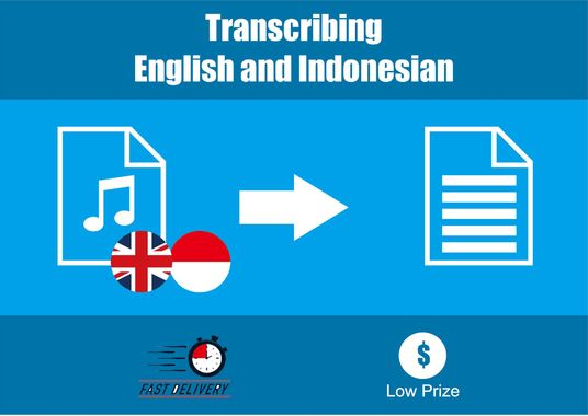 I will transcribe audio or video of 15 minutes in Indonesian