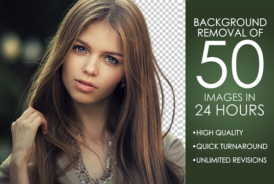 professionally remove background of photos