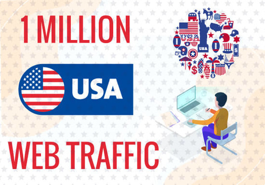 Send You Real Website Traffic Visitors From USA