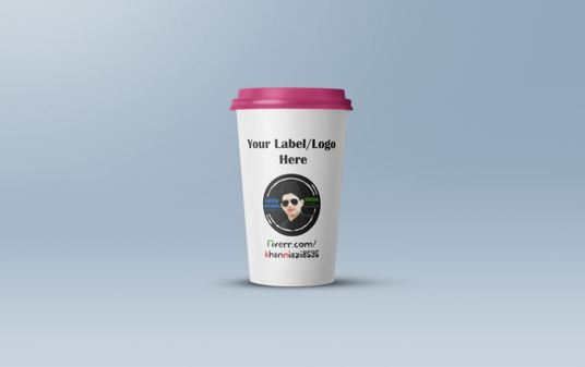 I will Do Mock Up And Design Of Coffee And Cup For Your Company