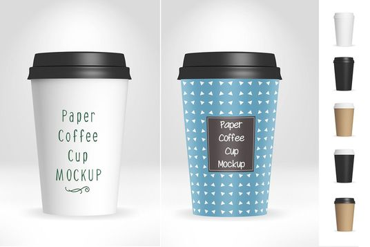 Do Mock Up And Design Of Coffee And Cup For Your Company