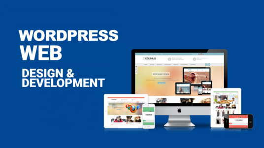 I will Design a Modern Wordpress Business Website or Blog