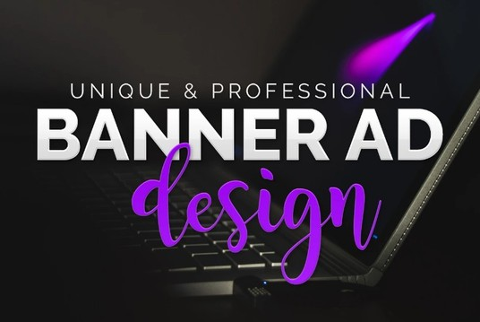 I will Create a Unique And Professional Banner Ad
