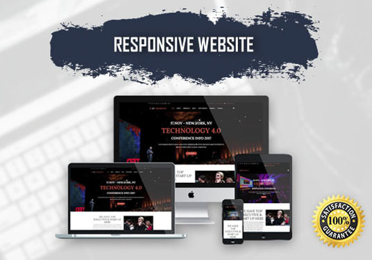 Design Responsive WordPress Website for your Company