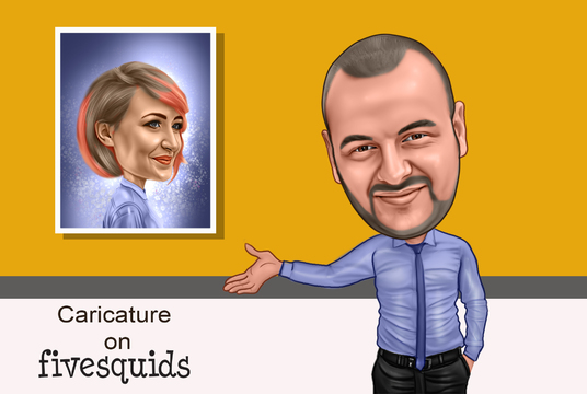 I will Change your photos into Exclusive caricatures