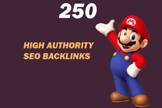 Do 250 High Authority Powerful SEO Backlinks, Link Building