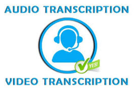 Transcribe Audio And Do Video Transcription