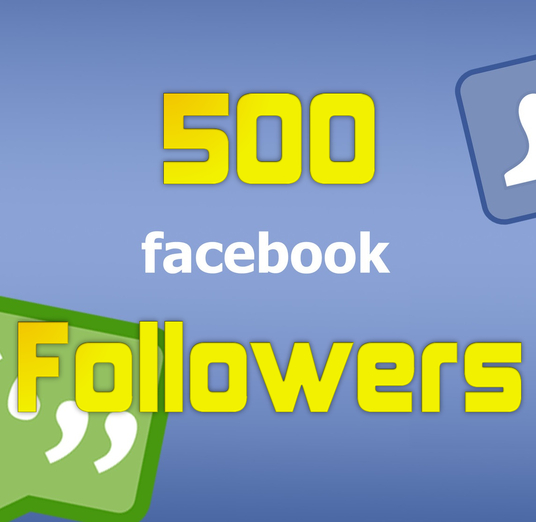 I will Add 500 High Quality Facebook Profile Followers