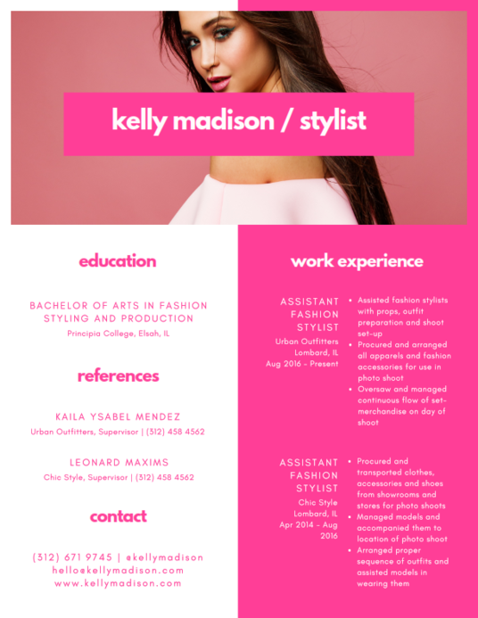 I will design, edit and revise your resume or CV