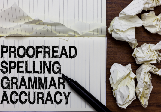 I will Edit, Proofread Or Copywrite What You Desire