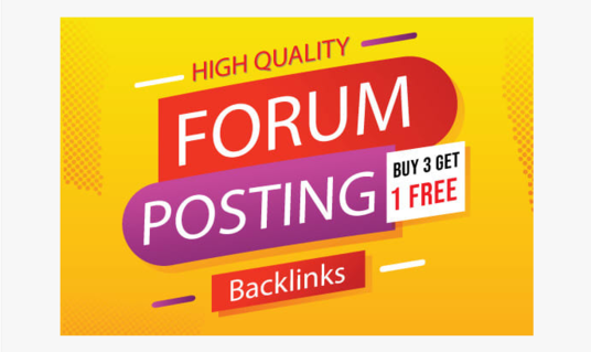 I will Do 50 Forum Posting With High Quality Dofollow Forum Backlinks