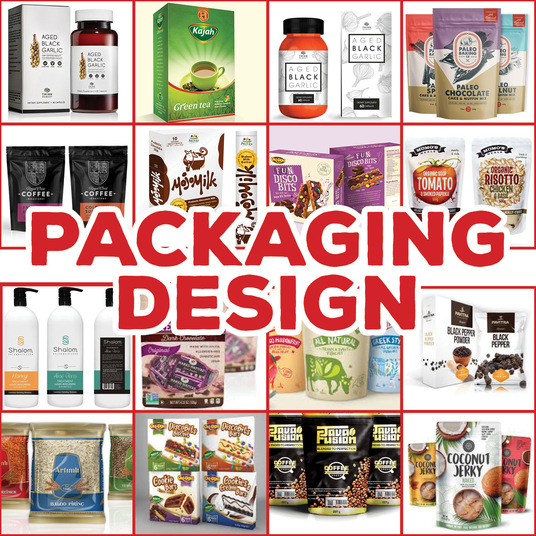 I will create design for product packaging