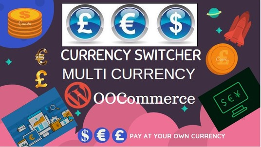 I will Setup Currency Switcher or Multi Currency Plugin functionality in WooCommerce