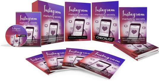 I will give you an EXCLUSIVE GOLD Instagram Marketing Secrets Video