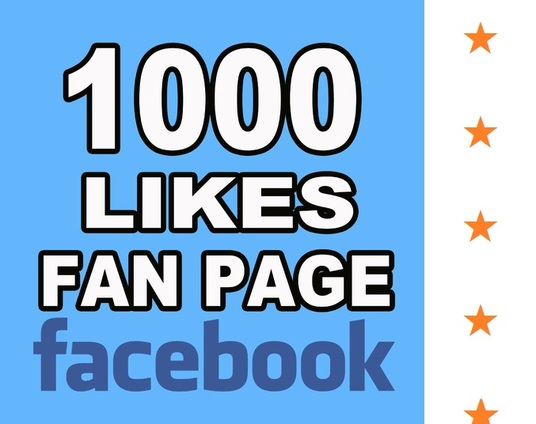 I will provide 1000 real facebook likes