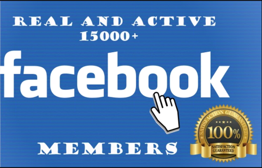 Provide 1000 Group Members Request To Your Facebook Group