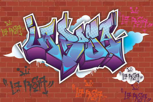 I will Make Awesome Digital Vector Graffiti of Your Name
