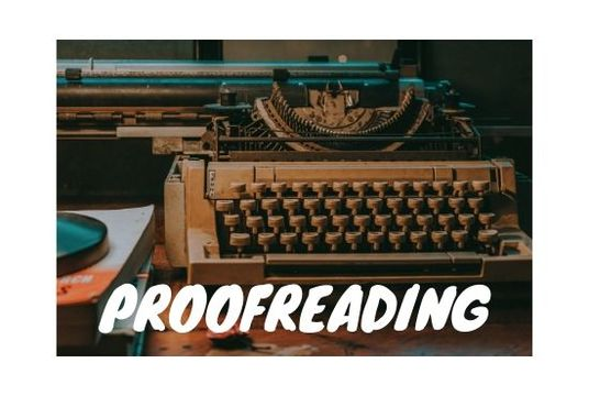 I will do proofreading and editing of 1000 words