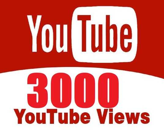 I will Provide You Best Quality 3000 Youtube Video Views