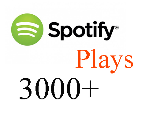 I will Provide 3000+ Spotify Real & Active Users Plays Superfast
