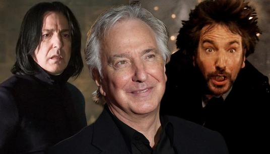 I will record a message for you as Alan Rickman
