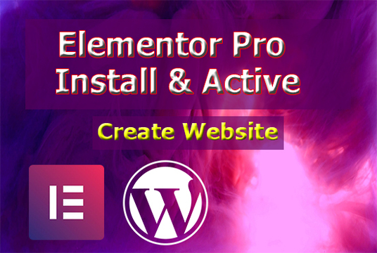 I will Install Lifetime Update Elementor pro &  Astra pro With Key And Create Website