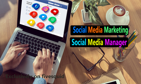 Be Your Professional Social Media & Marketing Manager
