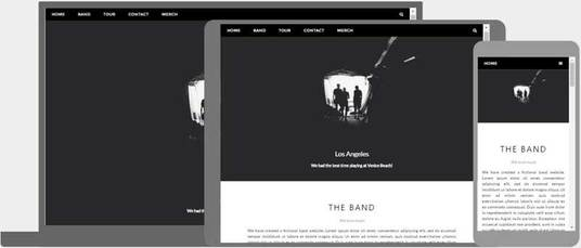 I will design an HTML5 responsive website for you