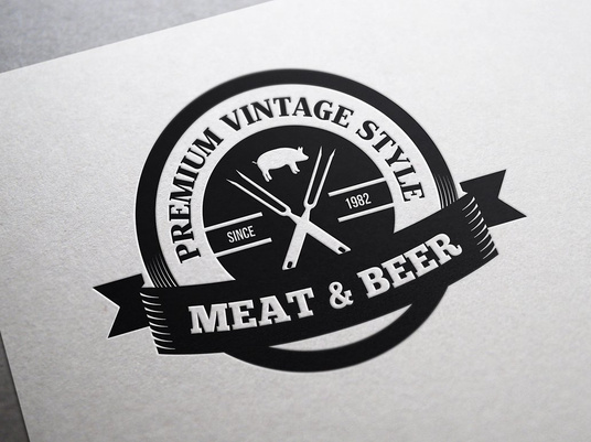 I will Design a Retro Vintage Logo