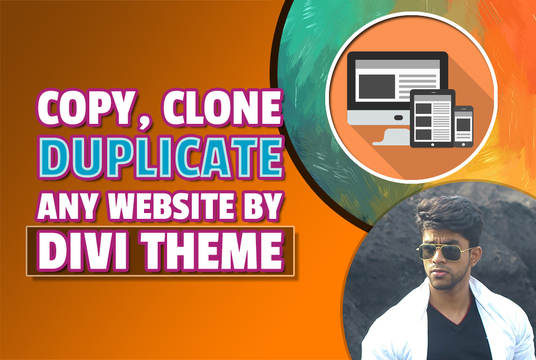 I will Copy Clone Or Duplicate Any Website With Divi Theme