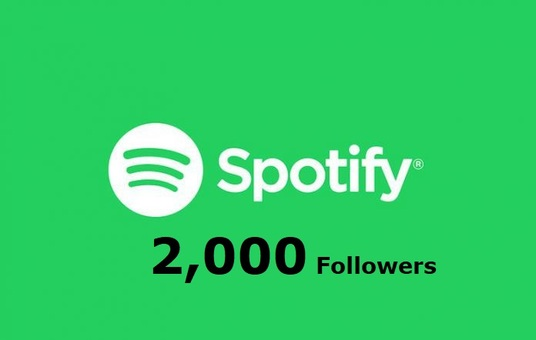 I will Do Spotify HQ 2,000 Artist Followers