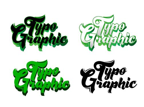do a Hand Lettering And Typography logo Design