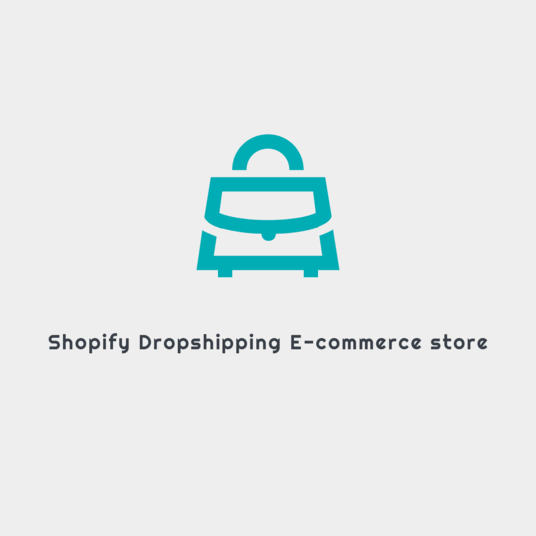 I will Create Professional Shopify Store And  E-commerce Website