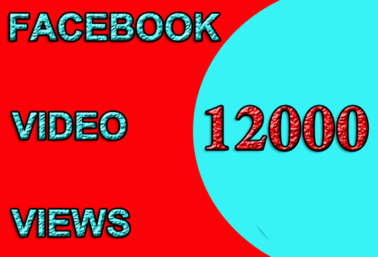 I will Build Facebook Video Views