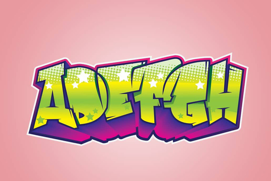 Make Awesome Digital Vector Graffiti For Your Name