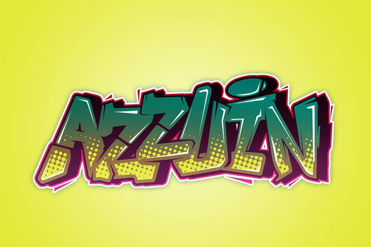 cccccc-Make Awesome Digital Vector Graffiti For Your Name