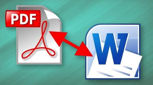 I will convert PDF file to word and word to pdf file