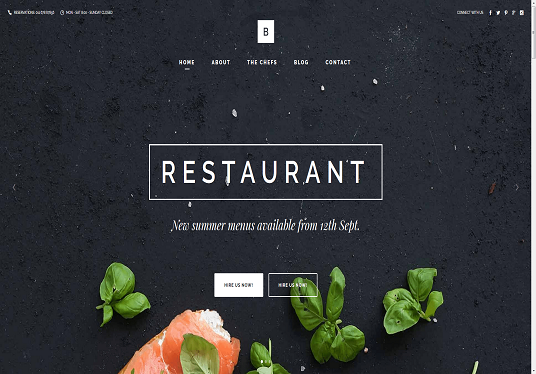 I will Make A Restaurant Or Catering Website