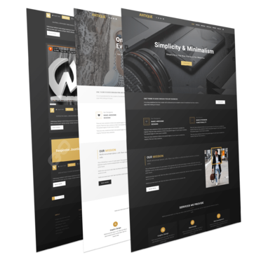 design any website by elementor page builder