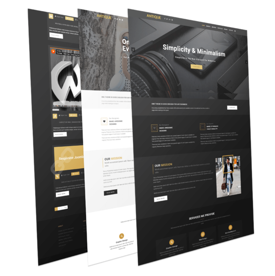 I will design any website by elementor page builder