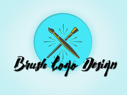 I will Give  Unique And Creative Brush Logo Design With Satisfaction Guaranteed