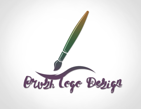 Give  Unique And Creative Brush Logo Design With Satisfaction Guaranteed